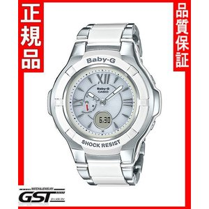 ベビーGカシオBGA-1250C-7B1JFソーラー電波腕時計レディース(銀色〈シルバー〉)|gst