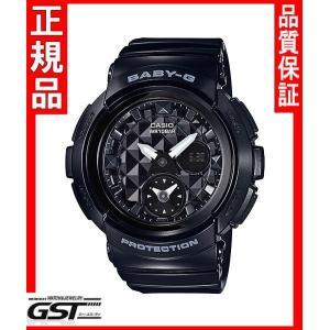 ベビーGカシオBGA-195-1AJF腕時計 ベビージー レディース(黒色〈ブラック〉)|gst