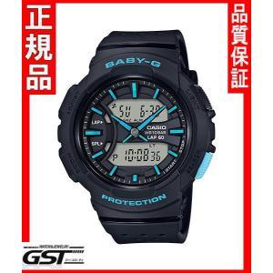 カシオBGA-240-1A3JF腕時計「BGA-240〜for running〜」ベビーGレディース(黒色〈ブラック〉)2月発売予定|gst