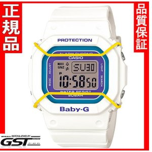 限定品ベビージーBGD-501-7BJFカシオ腕時計レディース(白色〈ホワイト〉・紫色〈パープル〉)|gst