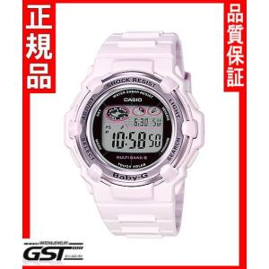 カシオBGR-3003-4JFソーラー電波腕時計「ベビージー ピンクブーケシリーズ」レディース(桃色〈ピンク〉)|gst