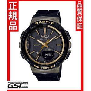 カシオBGS-100GS-1AJFカシオ腕時計「ベビージー ステップトラッカー」レディース(黒色〈ブラック〉)|gst