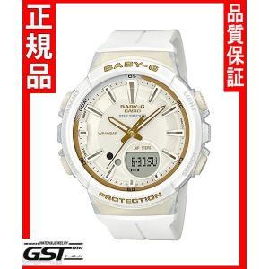 カシオBGS-100GS-7AJFカシオ腕時計「ベビージー ステップトラッカー」レディース(白色〈ホワイト〉)|gst