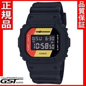 カシオCASIO ジーショックG-SHOCK DW-5600HDR-1JR コラボレーションモデル腕時計 送料無料 限定モデル|gst