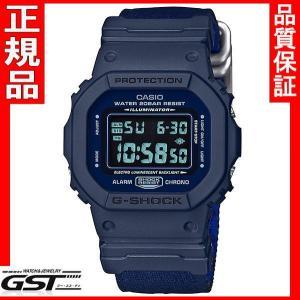 【送料無料】限定品GショックカシオDW-5600LU-2JF「Gショック」腕時計(紺色<ネイビー>)|gst