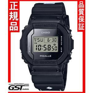 【国内モデル新品】GショックカシオDW-5600PGB-1JR ピガール タイアップモデル 腕時計(黒色〈ブラック〉)|gst