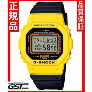 限定品GショックカシオDW-5600TB-1JF THROW BACK 1983 腕時計(黄色〈イエロー〉・黒色〈ブラック〉)|gst
