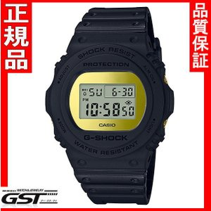 国内モデル 送料無料 カシオ ジーショックG-SHOCKDW-5700BBMB-1JFブラック・ゴールドミラー正規保証|gst