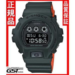【送料無料】限定品GショックカシオDW-6900LU-3JF「Gショック」腕時計(緑色<グリーン>)|gst