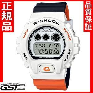 限定品GショックカシオDW-6900NC-7JF「Gショック」腕時計(白色<ホワイト>)|gst