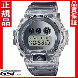 カシオG-SHOCKジーショックDW-6900SK-1JF 限定品Clear Skeleton 腕時計 送料無料  gst