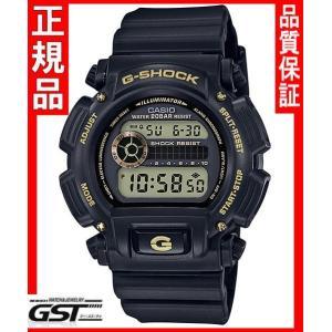GショックカシオDW-9052GBX-1A9JF「ブラック&ゴールド」腕時計(黒色〈ブラック〉)|gst