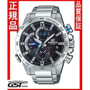 エディフィスEQB-800D-1AJF レースラップクロノグラフ〜EQB-800〜 カシオソーラー腕時計メンズ(銀色〈シルバー〉)|gst