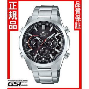 エディフィスEQW-T650D-1AJF「EDIFICE」カシオソーラー電波腕時計メンズ(銀色〈シルバー〉)|gst