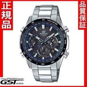 エディフィスEQW-T650DB-1AJF EDIFICE カシオソーラー電波腕時計メンズ(銀色〈シルバー〉)|gst