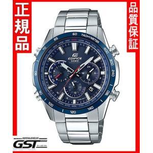エディフィスEQW-T650DB-2AJF「EDIFICE」カシオソーラー電波腕時計メンズ(銀色〈シルバー〉)|gst