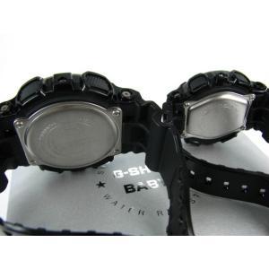国内モデル ペア腕時計カシオGショック&ベビーG、GA-110GB-1AJF-BA-110-1AJF黒金ペアウォッチゴールド黒色ブラック正規保証書|gst|04