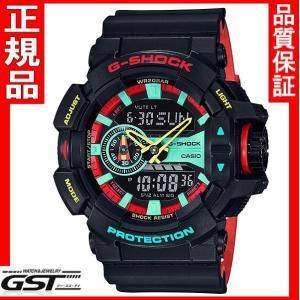 国内モデル カシオジーショック G-SHOCK GA-400CM-1AJF ブリージー・ラスタカラー 腕時計|gst