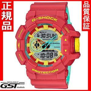 国内モデル 安心 カシオ ジーショック G-SHOCK GA-400CM-4AJFブリージー・ラスタカラー 腕時計 正規保証|gst
