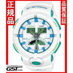 Gショック カシオGA-500WG-7AJF腕時計メンズ(白色〈ホワイト〉)|gst