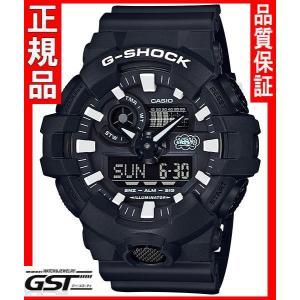 35周年限定品GショックカシオGA-700EH-1AJR「G-SHOCK×ERIC HAZEコラボレーションモデル」腕時計(黒色〈ブラック〉)|gst