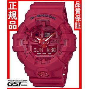 新品】G-SHOCK GショックGA-735C-4AJRカシオ35周年記念スペシャルモデル「RED OUT」腕時計(赤色〈レッド〉)在庫アリ|gst