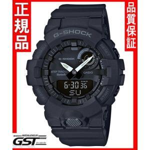 GショックカシオGBA-800-1AJF「ジー・スクワッド」腕時計(黒色〈ブラック〉)|gst