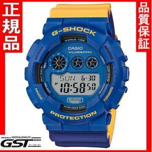 限定品GショックカシオGD-120NC-2JF「Gショック」腕時計(青色<ブルー>)|gst