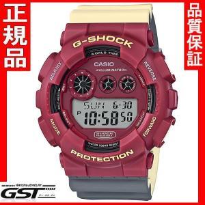 限定品GショックカシオGD-120NC-4JF「Gショック」腕時計(赤色<レッド>)|gst