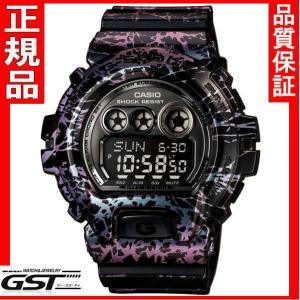 ポーラライズド・マーブル・シリーズGD-X6900PM-1JFカシオ腕時計「Gショック」限定品・限定モデルメンズ(紫色〈パープル〉)|gst
