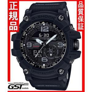 GショックカシオGG-1035A-1AJR「ビッグバンブラック」マッドマスター35周年記念スペシャルモデル(黒色〈ブラック〉) gst