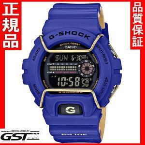 GショックカシオGLS-6900-2JF腕時計 Gライド メンズ青色(青色〈ブルー〉)|gst