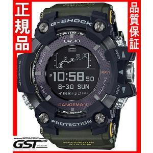 【新品 国内モデル】カシオ Gショック GPR-B1000-1BJR マスターオブGレンジマン GPS(黒、濃い緑色)在庫あり|gst