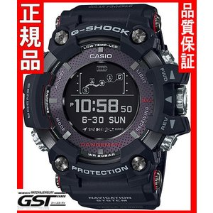 新品  国内モデル G-SHOCKカシオ Gショック GPR-B1000-1JR マスターオブGレンジマン GPS 黒色 ブラック 在庫アリ|gst