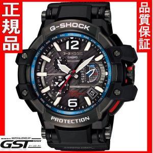 カシオGショック正規国産品GPS対応スカイコックピットGPW-1000-1AJFハイブリッド電波ソーラーG-SHOCK腕時計メンズ(黒色〈ブラック〉)|gst