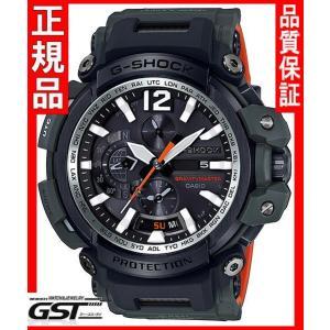 Gショック カシオGPW-2000-3AJF「マスター・イン・オリーブドラブ」GPSソーラー電波腕時計メンズ(黒色〈ブラック〉)|gst