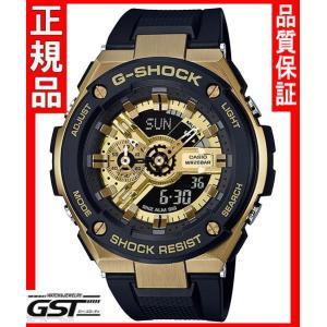 GショックカシオGST-400G-1A9JF「G-STEEL」腕時計(黒色〈ブラック〉)|gst