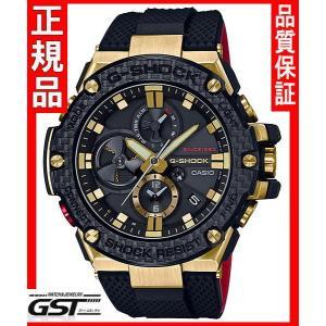 G-SHOCKGショックカシオGST-B100TFB-1AJR ゴールド トルネード ソーラー腕時計(黒色〈ブラック〉35周年記念|gst