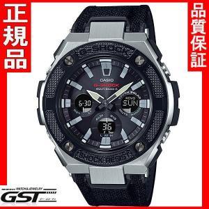 カシオCASIO ジーショックG-SHOCK  GST-W330AC-1AJF ソーラー電波腕時計 黒ベゼル|gst