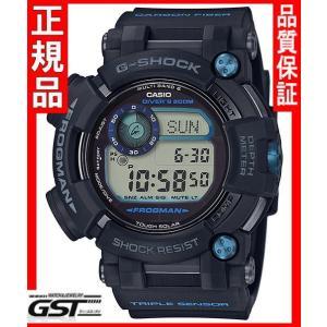 GショックカシオGWF-D1000B-1JFソーラー電波腕時計「マスターオブGフロッグマン」メンズ黒色(黒色〈ブラック〉)|gst