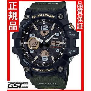 GショックカシオGWG-100-1A3JF「マスターオブG マッドマスター」ソーラー電波腕時計(黒色〈ブラック〉)|gst