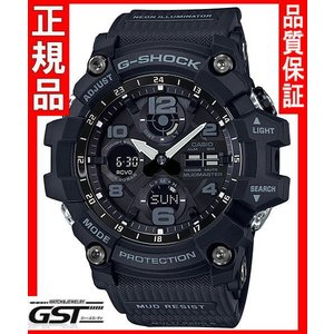 GショックカシオGWG-100-1AJF「マスターオブG マッドマスター」ソーラー電波腕時計(黒色〈ブラック〉)|gst