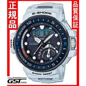GショックカシオGWN-Q1000-7AJFソーラー電波腕時計 ガルフマスター メンズ白色(白色〈ホワイト〉)|gst