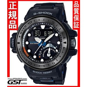 GショックカシオGWN-Q1000MCA-1AJF「ガルフマスター」ソーラー電波(黒色〈ブラック〉)|gst