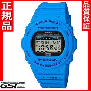 国内モデル G-SHOCKカシオGショックGWX-5700CS-2JF G-LIDE ソーラー電波腕時計|gst