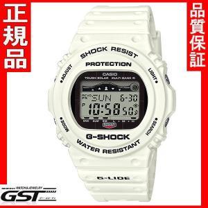 国内モデル カシオGショックG-SHOCK GWX-5700CS-7JF G-LIDE ソーラー電波腕時計|gst