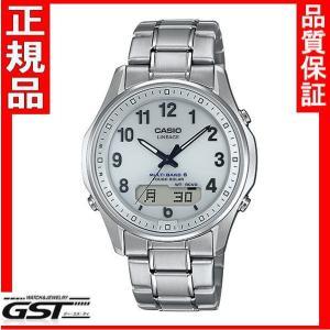リニエージLCW-M100TSE-7AJFカシオソーラー電波腕時計メンズ(銀色〈シルバー〉)10月発売予定 gst