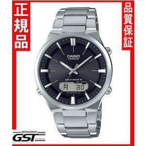 リニエージLCW-M510D-1AJFカシオソーラー電波腕時計メンズ(銀色〈シルバー〉)|gst