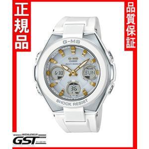 カシオBaby-GベビージーMSG-W100-7A2JFソーラー電波腕時計 G-MS レディース(白色〈ホワイト〉)|gst