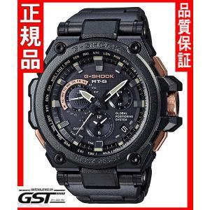 世界限定1000本GショックカシオMTG-G1000RB-1AJF腕時計GPS電波ソーラー「MT-G」メンズ黒色(黒色〈ブラック〉)